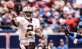 Aaron Brooks New Orleans Saints Arkivbilder