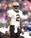 Aaron Brooks New Orleans Saints Royaltyfri Fotografi