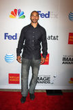 Aaron D Spears arrives at the NAACP Image Awards Nominees Reception Stock Image