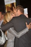Aaron Eckhart, Jennifer Aniston Lizenzfreie Stockfotos