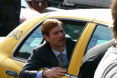 Aaron Eckhart In Upcoming Film Stock Photography