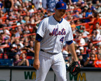 Aaron Heilman, New York Mets Lizenzfreie Stockfotos