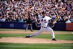 Aaron Heilman. New York Mets pitcher Aaron Heilman.  Image taken from color slide Stock Photo