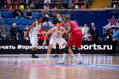 Aaron Jackson (9) dribble royalty free stock images
