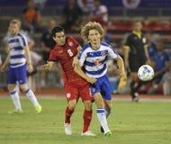 Aaron Kuhl av läsande FC Royaltyfria Bilder