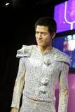 Aaron kwok wax figure. Chinese actor Aaron kwok  wax figure  in madame tussauds,  hong kong city Royalty Free Stock Image