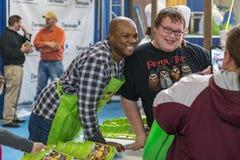 Aaron McCargo Celebrity Chef immagine stock libera da diritti
