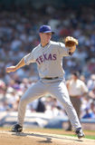 Aaron Myette. Texas Rangers pitcher Aaron Myette. (Image taken from color slide Royalty Free Stock Photo