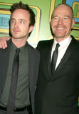 Aaron Paul, Bryan Cranston Photographie stock libre de droits