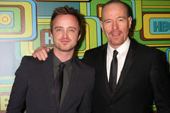 Aaron Paul, Bryan Cranston Stock Photo
