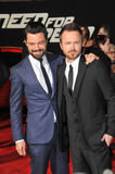 Aaron Paul et Dominic Cooper Photographie stock libre de droits