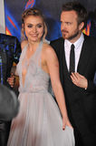 Aaron Paul & Imogen Poots Royalty Free Stock Images