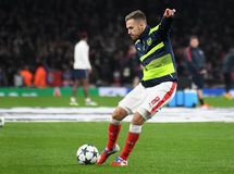 Aaron Ramsey Royalty Free Stock Images