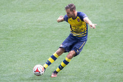 Aaron Ramsey Royalty Free Stock Photography
