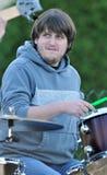 Aaron Regester van de Band van Broers Davisson Royalty-vrije Stock Afbeelding