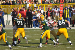 Aaron Rodger of the Green Bay Packers Royalty Free Stock Image