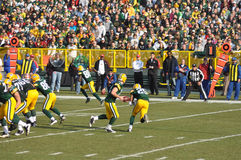 Aaron Rodger of the Green Bay Packers Stock Images