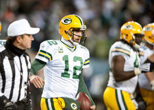 Aaron Rodgers Foto de Stock Royalty Free