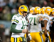 Aaron Rodgers Fotos de Stock