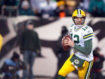 Aaron Rodgers Fotos de Stock Royalty Free