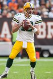 Aaron Rodgers Green Bay Packers Fotografia de Stock