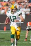 Aaron Rodgers Green Bay Packers Imagenes de archivo