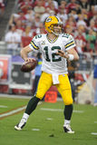 Aaron Rodgers Green Bay Packers Imagem de Stock