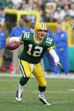 Aaron Rodgers Green Bay Packers. Aaron Rodgers Quarterback for the Green Bay Packers in game action during a regular season game royalty free stock images