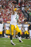 Aaron Rodgers Quarterback for the GreenBay Packers. Stock Image