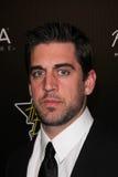 Aaron Rogers στο ντόμινο Gala, ξενοδοχείο πύργων ηλιοβασιλέματος, Δυτικό Χόλιγουντ, ΠΕΡΙΠΟΥ 02-24-11 Hollywood Στοκ Φωτογραφία