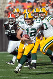 Aaron Rogers Of The Green Bay packare Royaltyfria Foton