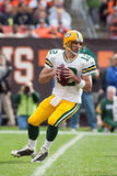 Aaron Rogers Of The Green Bay Packers Royalty Free Stock Photos