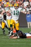 Aaron Rogers Green Bay Packers. Stock Photo