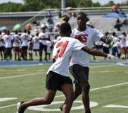 Aaron Ross Football Camp at John Tyler High School in Tyler, Texas on July 21, 2018