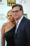 Aaron Sorkin et Carrie Keagan Image stock