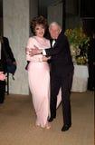 Aaron Spelling, Joan Collins Fotos de Stock Royalty Free