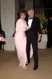 Aaron Spelling, Joan Collins Imagem de Stock Royalty Free