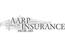 Aarp Life Insurance And Medicare Insurance An Overview Word Cloud Stock Images