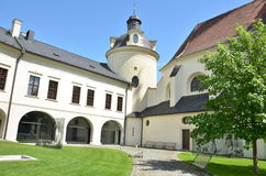 Aartsbisdom Muzeum in Olomouc Stock Fotografie