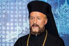 Aartsbisschop Makarios III wascijfer stock afbeeldingen