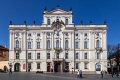 Aartsbisschop` s Paleis in Praag Royalty-vrije Stock Foto