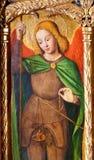 Aartsengel Heilige Michael stock afbeeldingen