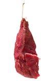 Aas met vlees op haak Stock Afbeeldingen