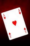 Aas van harten Stock Afbeelding