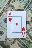 Aas van harten royalty-vrije stock afbeelding
