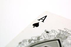 Aas van Spade Stock Foto