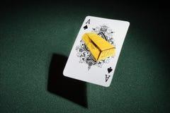 Aas van spades. Stock Fotografie