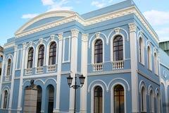 Aas Zamoras Ramos Theater und Diputacion Lizenzfreies Stockbild