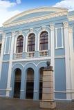 Aas Zamoras Ramos Theater und Diputacion Lizenzfreies Stockfoto