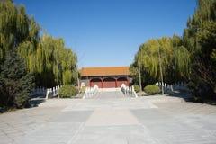 AAsian China, Pekín, edificios antiguos, el mejor en toda la tierra de la ciudad Imágenes de archivo libres de regalías